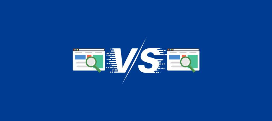 Confronta il tuo sito Web con quello dei tuoi concorrenti