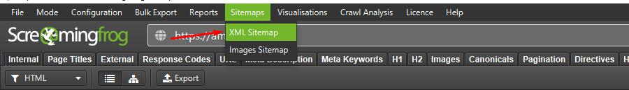 xml sitemap