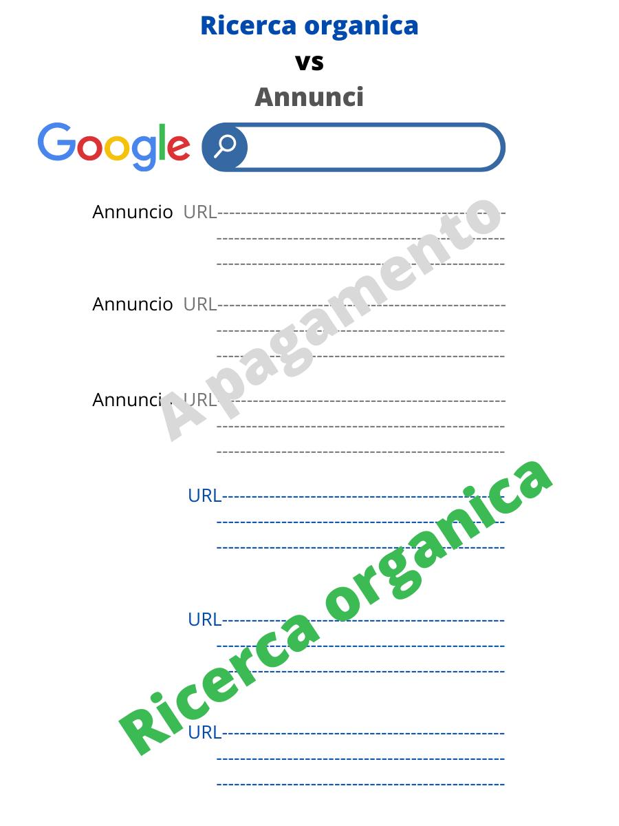 Cos'è la ricerca organica su Google?